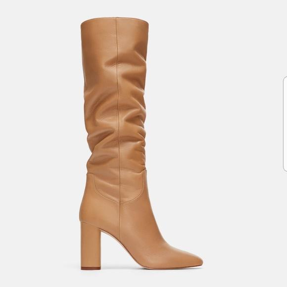 f3bbd260d06 Zara High Heel Leather Boots